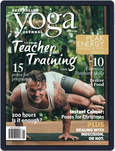 Australian Yoga Journal January 1st, 2018 Digital Back Issue Cover