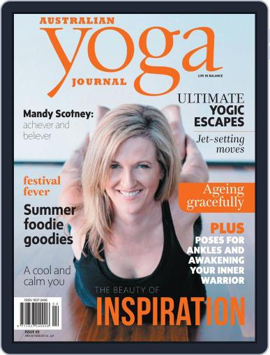 Australian Yoga Journal November 1st, 2017 Digital Back Issue Cover