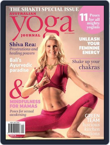 Australian Yoga Journal (Digital) May 1st, 2017 Issue Cover