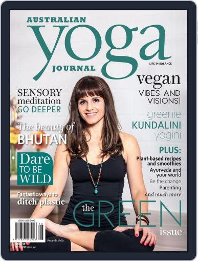Australian Yoga Journal November 1st, 2016 Digital Back Issue Cover