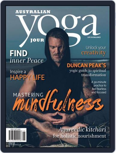 Australian Yoga Journal July 19th, 2016 Digital Back Issue Cover