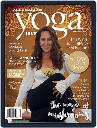 Australian Yoga Journal June 7th, 2016 Digital Back Issue Cover