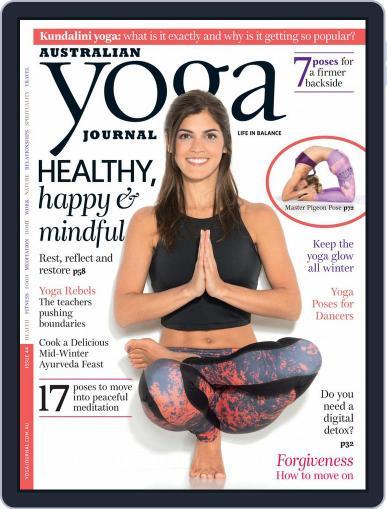 Australian Yoga Journal (Digital) June 11th, 2015 Issue Cover
