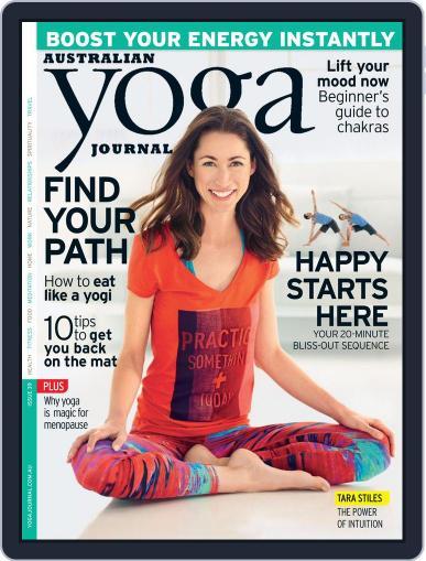 Australian Yoga Journal October 22nd, 2014 Digital Back Issue Cover