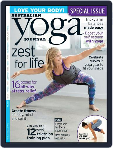 Australian Yoga Journal (Digital) September 10th, 2014 Issue Cover
