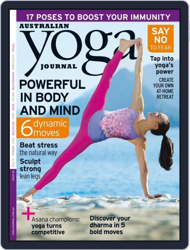 Australian Yoga Journal (Digital) June 11th, 2014 Issue Cover