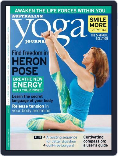 Australian Yoga Journal April 23rd, 2014 Digital Back Issue Cover