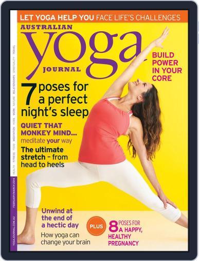 Australian Yoga Journal (Digital) January 22nd, 2014 Issue Cover