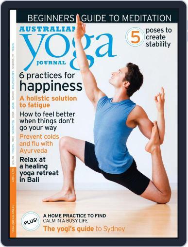 Australian Yoga Journal (Digital) March 12th, 2013 Issue Cover