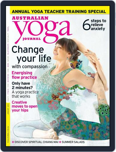 Australian Yoga Journal December 4th, 2012 Digital Back Issue Cover