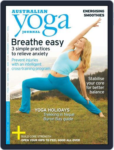 Australian Yoga Journal (Digital) October 16th, 2012 Issue Cover