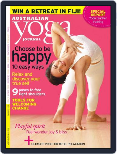 Australian Yoga Journal December 20th, 2011 Digital Back Issue Cover