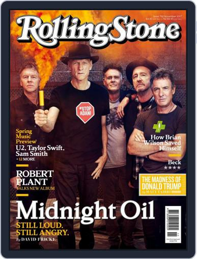 Rolling Stone Australia (Digital) November 1st, 2017 Issue Cover