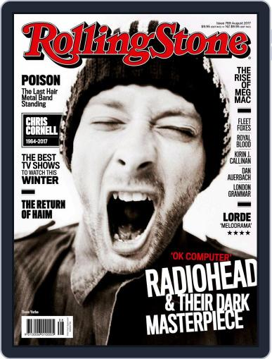 Rolling Stone Australia (Digital) August 1st, 2017 Issue Cover