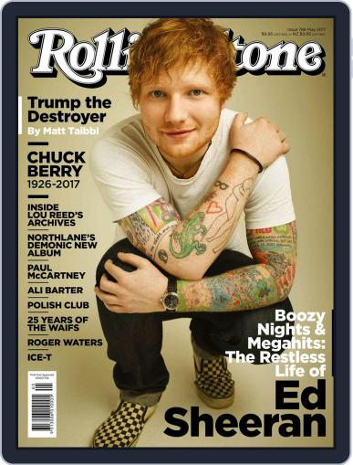 Rolling Stone Australia May 1st, 2017 Digital Back Issue Cover