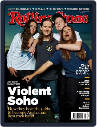 Rolling Stone Australia (Digital) March 2nd, 2016 Issue Cover