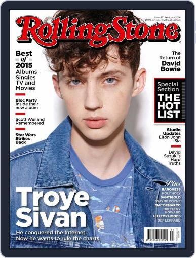 Rolling Stone Australia (Digital) January 6th, 2016 Issue Cover