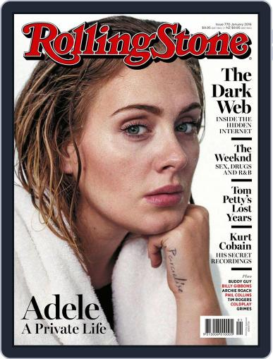 Rolling Stone Australia (Digital) January 1st, 2016 Issue Cover