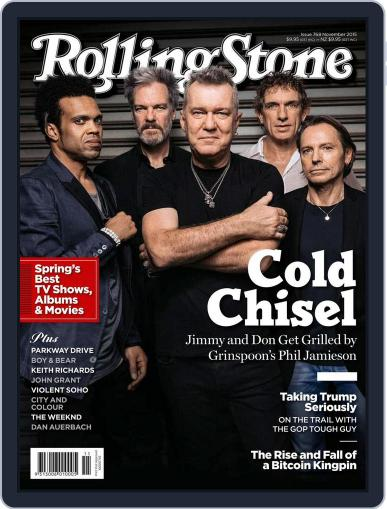 Rolling Stone Australia October 10th, 2015 Digital Back Issue Cover