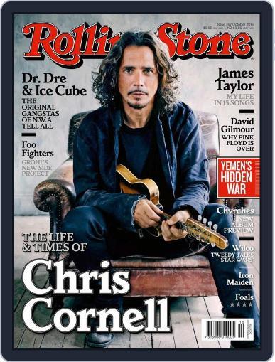 Rolling Stone Australia (Digital) September 3rd, 2015 Issue Cover