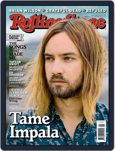 Rolling Stone Australia (Digital) July 1st, 2015 Issue Cover