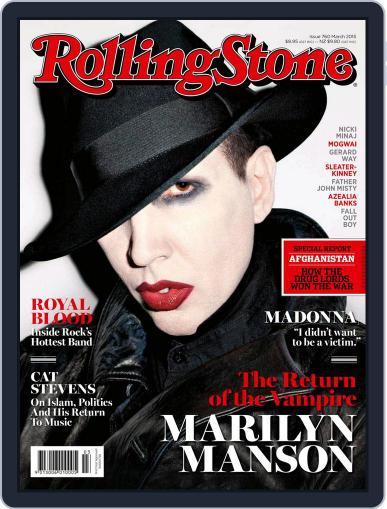 Rolling Stone Australia (Digital) February 5th, 2015 Issue Cover