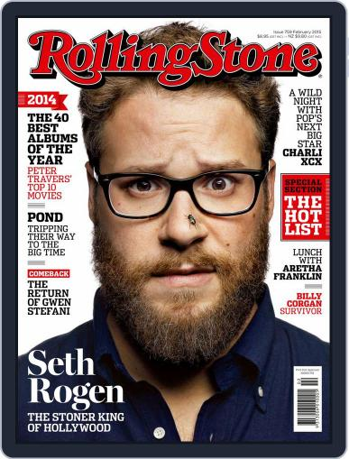 Rolling Stone Australia (Digital) January 7th, 2015 Issue Cover