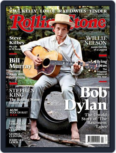 Rolling Stone Australia December 23rd, 2014 Digital Back Issue Cover