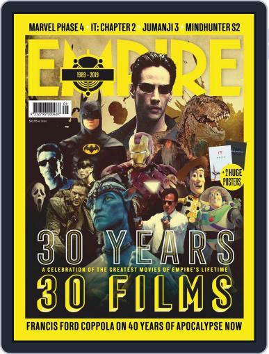 Empire Australasia September 1st, 2019 Digital Back Issue Cover