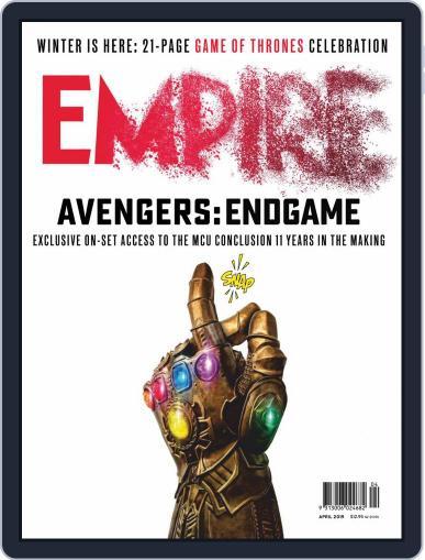 Empire Australasia April 1st, 2019 Digital Back Issue Cover