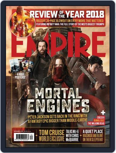 Empire Australasia (Digital) December 1st, 2018 Issue Cover