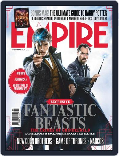 Empire Australasia (Digital) November 1st, 2018 Issue Cover