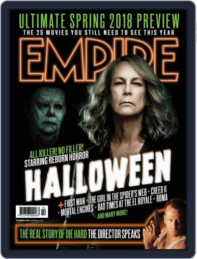 Empire Australasia (Digital) October 1st, 2018 Issue Cover