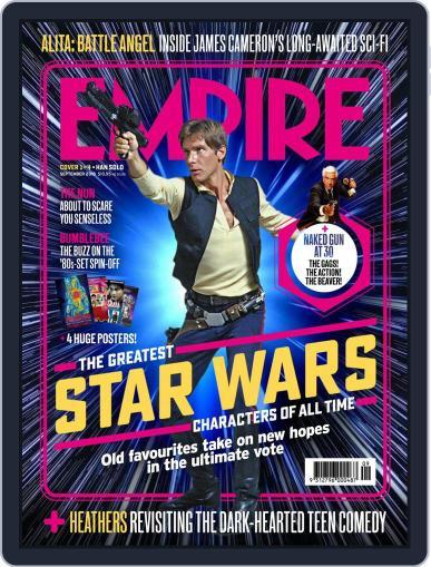 Empire Australasia September 1st, 2018 Digital Back Issue Cover