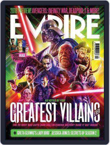 Empire Australasia February 1st, 2018 Digital Back Issue Cover