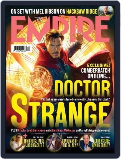Empire Australasia (Digital) October 1st, 2016 Issue Cover