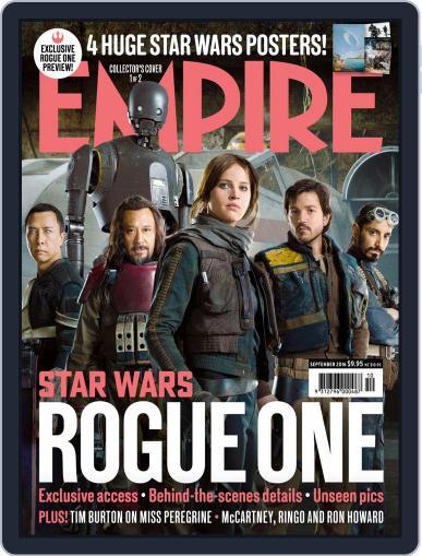 Empire Australasia (Digital) September 1st, 2016 Issue Cover