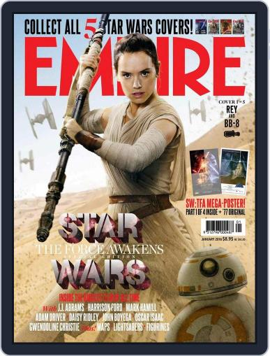 Empire Australasia December 13th, 2015 Digital Back Issue Cover