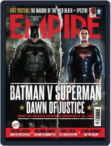 Empire Australasia (Digital) October 11th, 2015 Issue Cover
