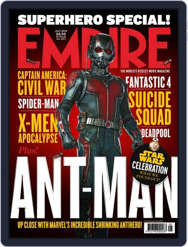Empire Australasia (Digital) July 1st, 2015 Issue Cover
