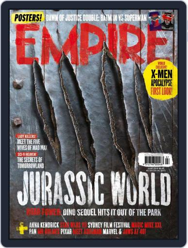 Empire Australasia May 15th, 2015 Digital Back Issue Cover