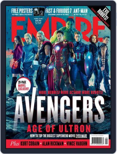 Empire Australasia (Digital) April 1st, 2015 Issue Cover