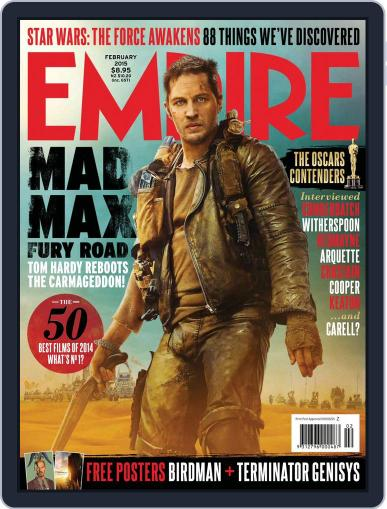 Empire Australasia (Digital) February 1st, 2015 Issue Cover