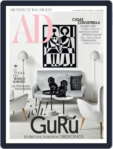 Ad España October 1st, 2018 Digital Back Issue Cover