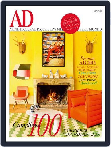 Ad España (Digital) March 1st, 2015 Issue Cover