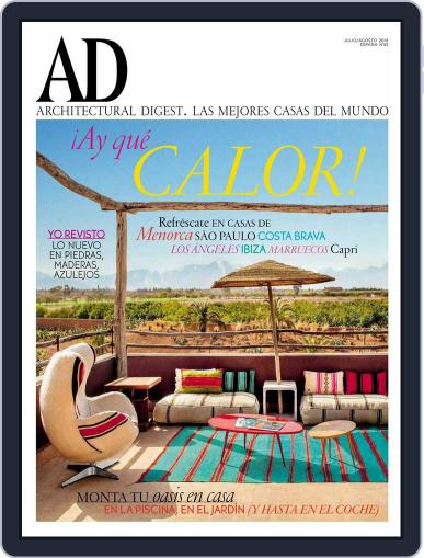 Ad España July 1st, 2014 Digital Back Issue Cover