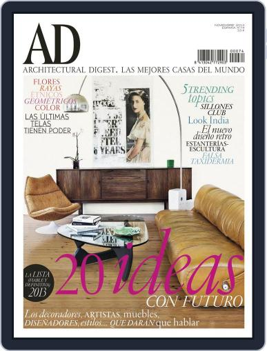 Ad España (Digital) October 22nd, 2012 Issue Cover