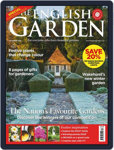 The English Garden (Digital) December 1st, 2019 Issue Cover
