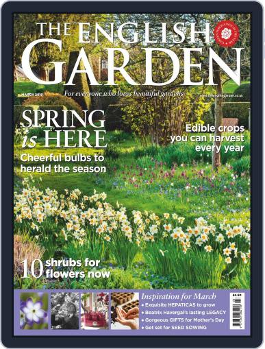 The English Garden March 1st, 2019 Digital Back Issue Cover