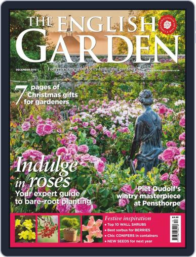 The English Garden (Digital) December 1st, 2018 Issue Cover